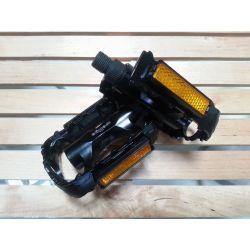 Wellgo Pedalen K70 zwart incl. Reflectoren