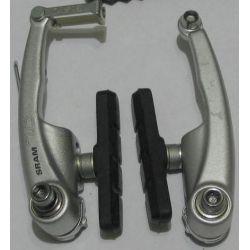 Sram V-Brake Remset 7.0 zilver (voor) incl. remrubber