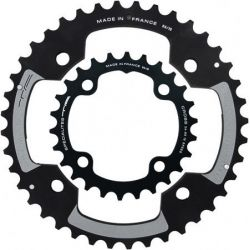 SPECIALITES TA chainring CROSS 120 ZWART (SRAM 4-ARM)
