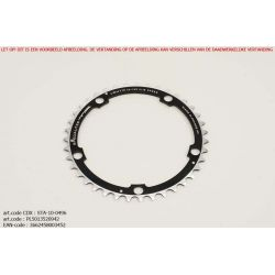 Kettingblad 42T Campagnolo Triple BCD135 zwart Vento TA-Specialities