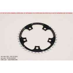Kettingblad 42T Middenblad Compact BCD110 zwart Zephyr - TA Specialties