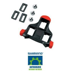 Shimano Schoenplaten SPD-SL SM-SH10 rood - fixed mode