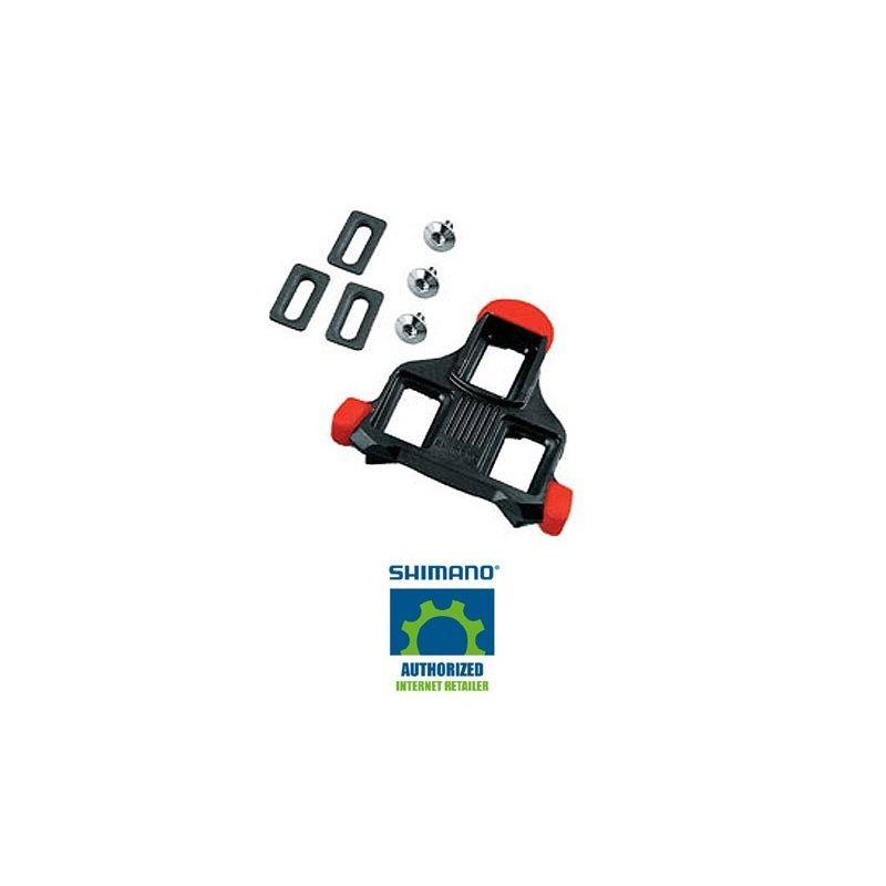 Shimano Schoenplaten SPD-SL SM-SH10 rood - fixed mode
