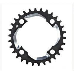SRAM X01 X-sync 11 speed kettingblad 32T 94 zwart-zilver