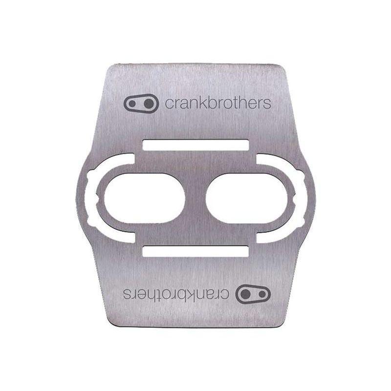 Crankbrother MTB Beschermplaatje RVS (set)