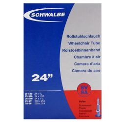 Schwalbe Rolstoel Binnenband SV9a 24x 3/4 - 1 1/8 Frans Ventiel