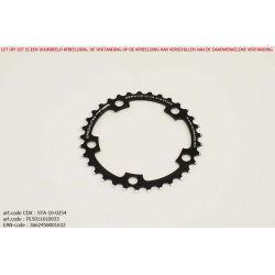 Kettingblad 33T Shimano Binnenblad  BCD110 zwart Zephyr - TA-Specialities