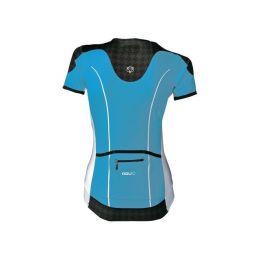 AGU Shirt Elba K/M Dames - aqua