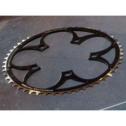 kettingblad 52T compact zwart van TA Specialties Zephyr Buitenblad BCD 110