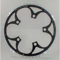 Kettingblad 53T compact zwart van TA Specialties Zephyr Buitenblad BCD 110