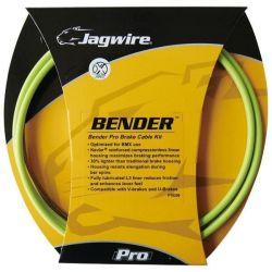 Jagwire Bender Pro Rem Kabelset Compleet voor BMX - groen