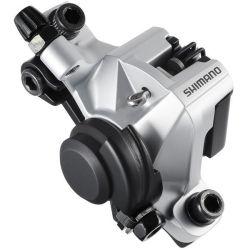 Shimano Schijfrem BR-M375 Mechanisch V/A Remklauw z/Leiding en Schijf - zilver