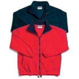 Craft Fleecevest Marcus rood XL