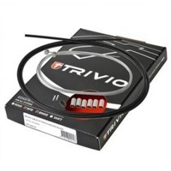 Trivio Remkabelset MTB Compleet RVS zwart - TRV-CB-016