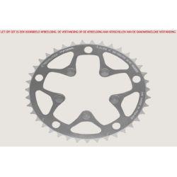 kettingblad 39 tanden zilver binnenblad BCD 130mm Shimano, SRAM, Rotor, FSA /9/10 speed Alize TA specialties