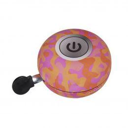 Yepp Fietsbel DING DONG 80mm  - gekleurde schakelaar