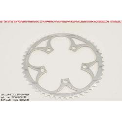Kettingblad 49T Shimano Buitenblad BCD110 zilver Zephyr -...