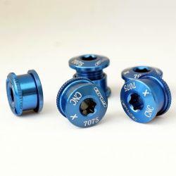 blauwe aluminium...