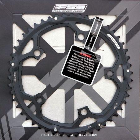 Origineel FSA Kettingblad 50T (Road Pro) BCD130 zwart (WA461) 10/11 speed uit gehard, gestandst aluminium  - 370-0150D