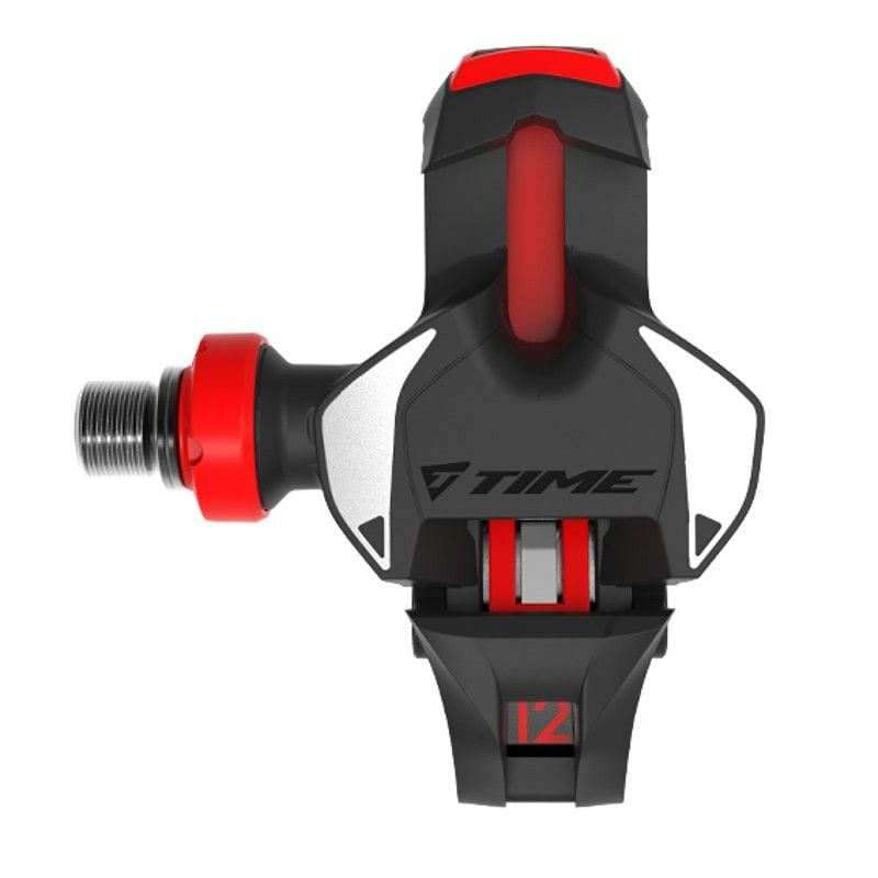 Time racepedalen Xpro 12 carbon zwart rood