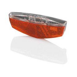 XLC Achterlicht CL-R17 LED met Standlicht Naafdynamo 50/80mm Zwart
