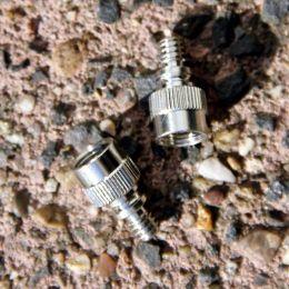 verloopnippel  van autoventiel naar Dunlop pompaansluiting