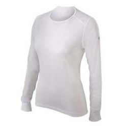 Odlo Light Ondershirt Dames Lange Mouw wit - M