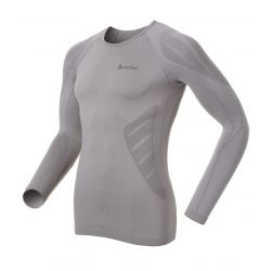Odlo Light Evolution Ondershirt Heren Lange Mouw grijs - XL