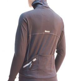 Shirt Santini Sole Lange Mouw zwart (M)