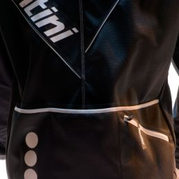 Winterjack Santini Aria zwart (M)