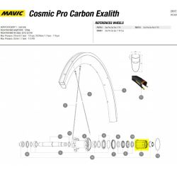 Mavic cassettebody Cosmic Pro carbon ID360 Shimano