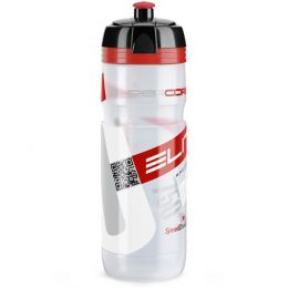 Elite Bidon Super Corsa Transparant Rood Logo 750ml