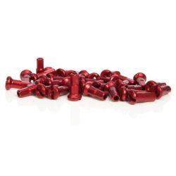 rode geëloxeerde aluminium nippels 14mm 14G Sapim