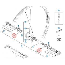 Shimano Kogelring 3/16 HB-M770/M775 - Y26J98030