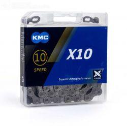 KMC Ketting 10 speed X10 grijs