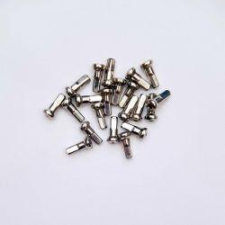 SAPIM upside nippel 12mm - 14G -  vernikkeld ( 50 stuks )