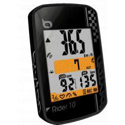 Bryton Rider 10E GPS Fietscomputer zwart