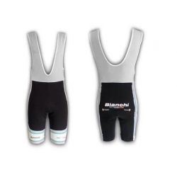 Bibshort Bianchi Team carbon celeste NEW - S