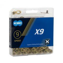 KMC Ketting X9 goud