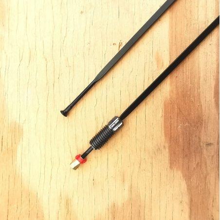 Spaak voorwiel Mavic Ksyrium Elite 2016 zwart spaaknippel 283.5mm LV2271600