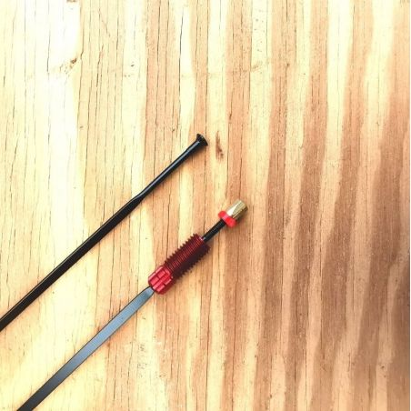 Spaak uit voorwiel Mavic Ksyrium Elite 2016 rode spaaknippel 283.5mm LV2272200