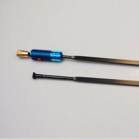 Spaak voorwiel Mavic Ksyrium Elite 2016 blauw 283.5mm LV2271900