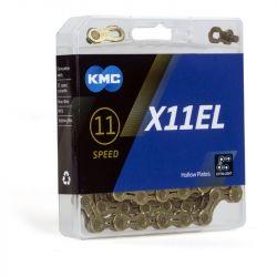 KMC Ketting 11 speed X11EL goud