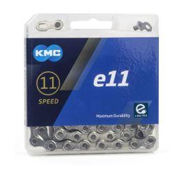 11 speed ketting KMC e11 E-Bike 11/128 Zilver 122 Schakels
