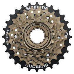 Freewheel 6 speed Shimano T14-28 - TZ500   30x1mm schroefdraad