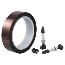 Ritchey Tubeless Kit - 2 Wielen + Velglint 25mm 8m + 2 Ventielen