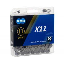 KMC Ketting X11 grijs 118 schakels