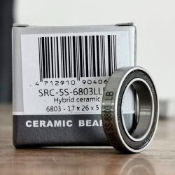 Hybrid ceramic lager 17 x 26 x 5 mm | 6803LLB  ABEC 5 | Ceramic bearing