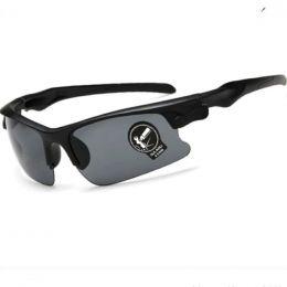 fietsbril met grijze contrast verbeterende lenzen | unisex