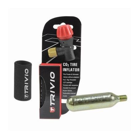 Trivio Co2 Cartridge Adapter TRV-PU-009 Presta - Schrader